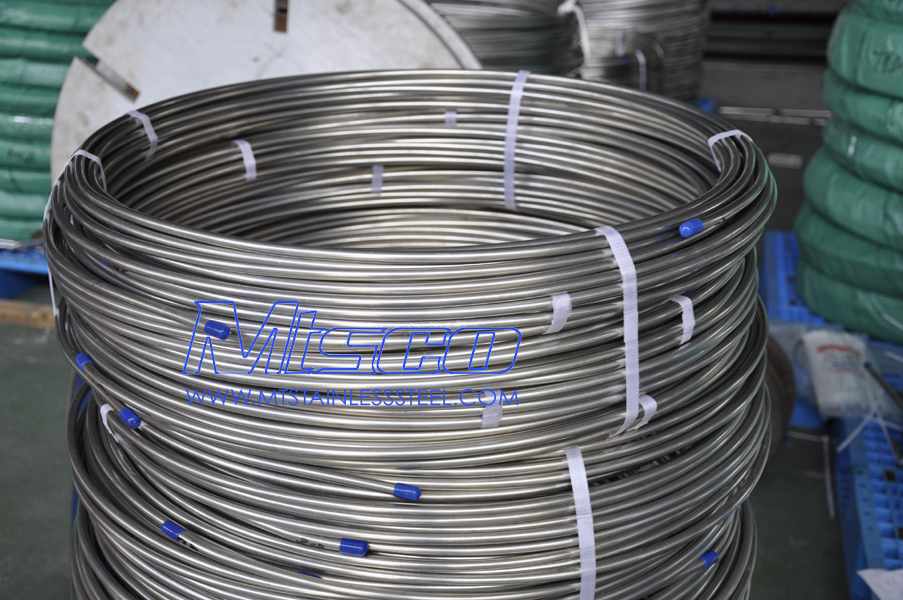 Coiled Tubing For Heat Exchanger Sshe07 Stainless Steel